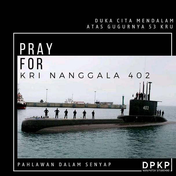 Doa Terbaik untuk KRI Nanggala 402